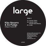 Kiko Navarro & DJ Fudge | 2 Days 2 Tracks ep (12 inch vinyl)