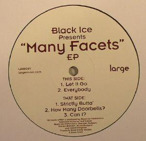 Black Ice Productions | Many Facets (12 Inch vinyl)