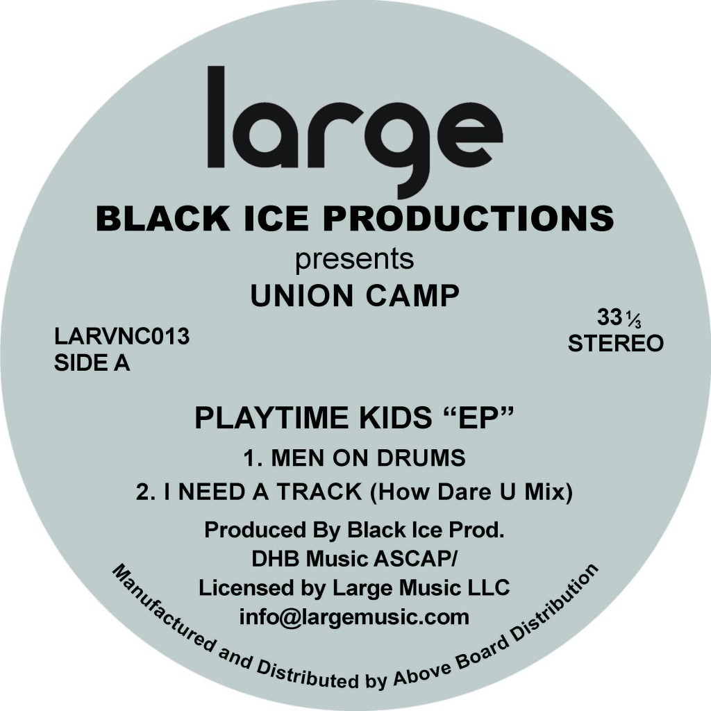 Large Music releases rare vinyl re-issue of Union Camp EP