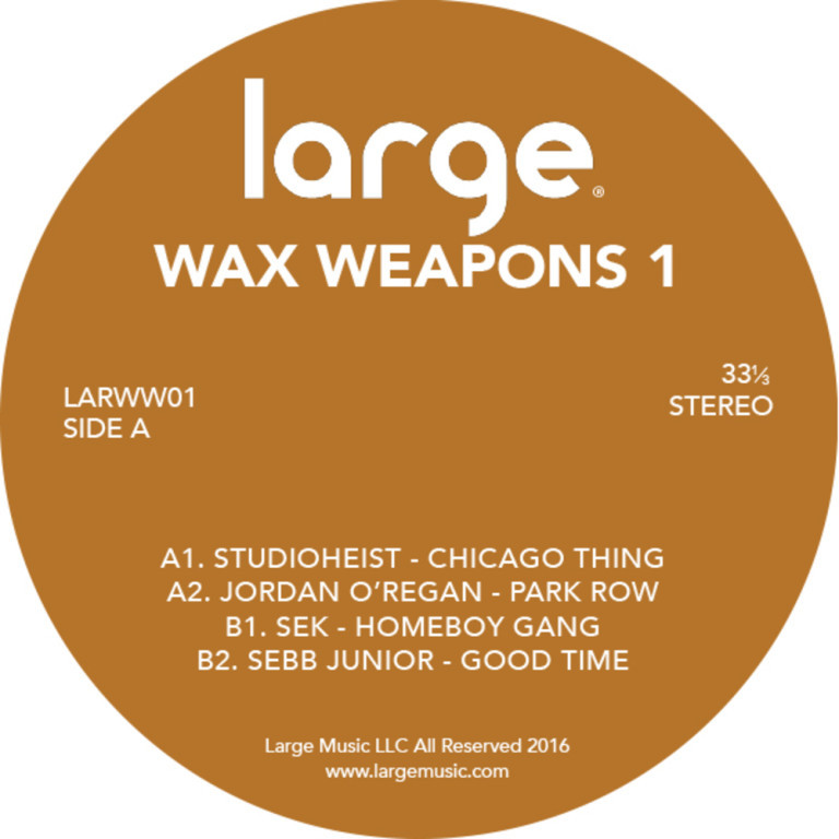 Large Music starts new vinyl series – Wax Weapons 1