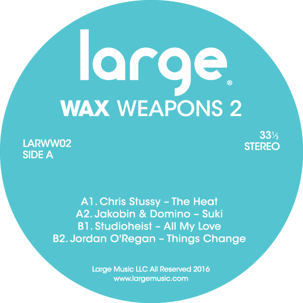 Large Music releases Wax Weapons 2