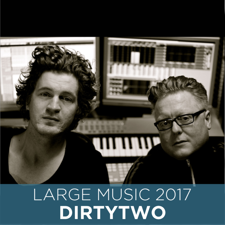 Large Music sign Swedish Duo Dirtytwo
