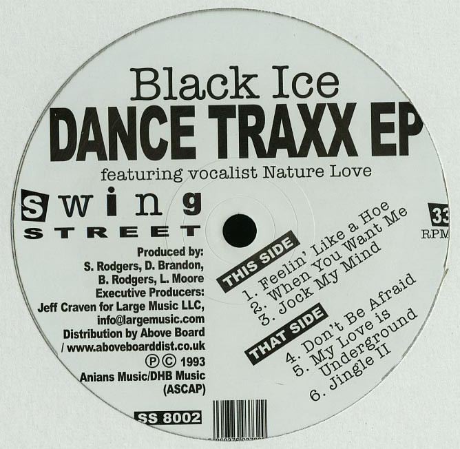 Black Ice | Dance Traxx EP (12 inch vinyl)