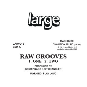 Kerri Chandler | Raw Grooves 1 (12 inch vinyl)