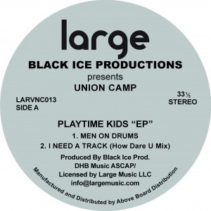 Black Ice | Union Camp EP (12 inch vinyl)