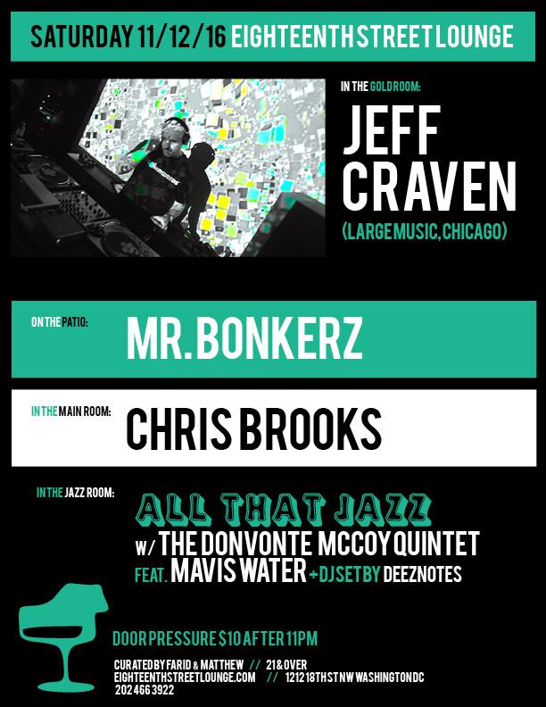 Jeff Craven | 18th Street Lounge | Washington DC